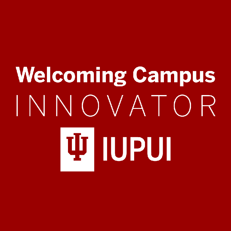 Welcoming Campus Innovator logo.
